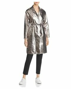Fabiana Filippi Textured Metallic Trench
