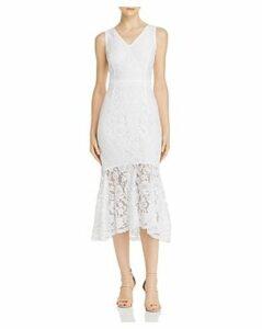 nanette Nanette Lepore Lace Midi Dress