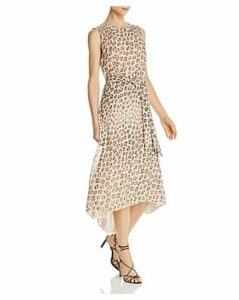 Joie Corrin Leopard-Printed Silk Dress