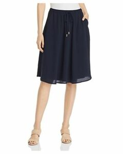 Donna Karan New York Crepe A-Line Skirt