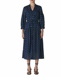 Whistles Valeria Embroidered Dress