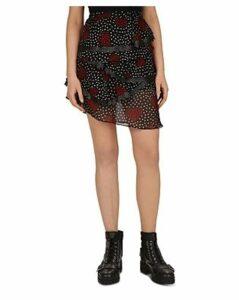The Kooples Heart Bouquet Skirt