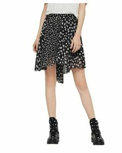 Allsaints Lea Scatter Pleated Floral Skirt