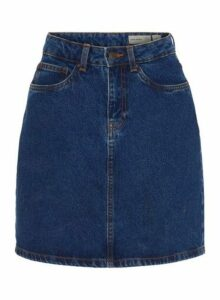 Womens **Vero Moda Blue Denim Skirt- Blue, Blue