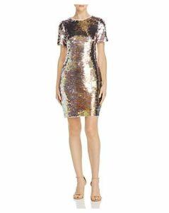 Aidan by Aidan Mattox Sequin Sheath Dress