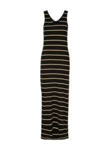 Womens **Only Black Jersey Maxi Dress- Black, Black