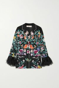 Paradised - I Followed Printed Cotton-blend Jersey Hoodie - Pink