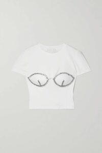 Zimmermann - Honour Floating Ruffled Floral-print Silk-georgette Playsuit - Black