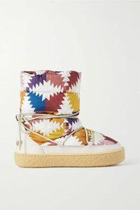Zimmermann - Veneto Strapless Printed Linen Midi Dress - Red