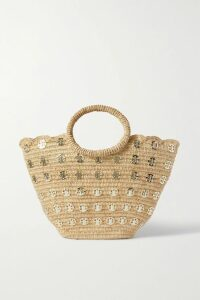 SEA - Leopard-print Cotton-canvas Midi Skirt - Leopard print