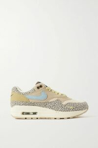 Michael Kors Collection - Belted Ruffled Floral-print Silk-georgette Mini Dress - Tan