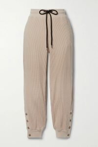 Isabel Marant - Alicia Lace-up Embellished Printed Cotton-gauze Tunic - White
