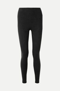 Marni - Snake-effect Leather Coat - Brown