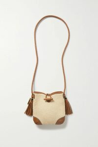 Needle & Thread - Lace-trimmed Ruffled Embroidered Tulle Gown - Black