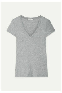 James Perse - Casual Slub Supima Cotton-jersey T-shirt - Gray