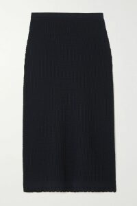 Max Mara - Wool-blend Crepe Skirt - Beige