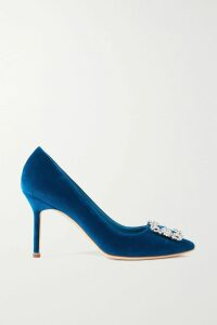 Eywasouls Malibu - Alessandra One-shoulder Leopard-print Chiffon Maxi Dress - Red
