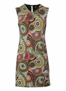 Womens *Izabel London Multi Colour Kaleidoscope Print Shift Dress, Multi Colour