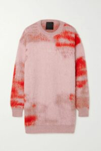 Marchesa Notte - Sequined Floral-print Crepe Midi Dress - Light blue