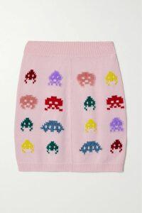 LemLem - + Net Sustain Amira Off-the-shoulder Frayed Striped Cotton-gauze Mini Dress - Blue