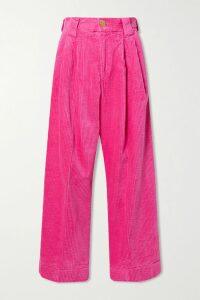 Needle & Thread - Ashley Embroidered Tulle Mini Dress - Blush
