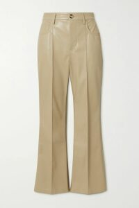 Dundas - Lace-trimmed Printed Metallic Fil Coupé Silk-blend Chiffon Maxi Dress - Blue