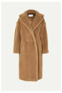 Max Mara - Teddy Icon Camel Hair And Silk-blend Coat - Sand
