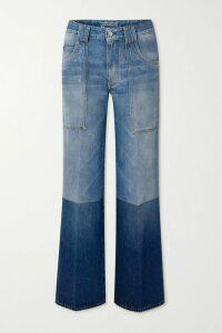Rebecca Vallance - Holliday Off-the-shoulder Polka-dot Linen-blend Dress - Coral
