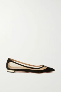 Bottega Veneta - Snake-effect Leather Trench Coat - Beige