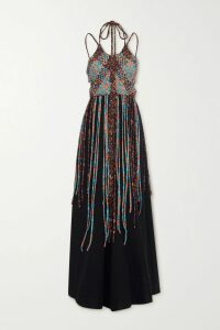 Bottega Veneta - Quilted Leather Skirt - Brown