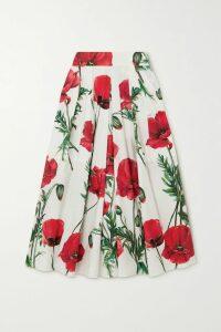 Bottega Veneta - Quilted Leather Skirt - Brown