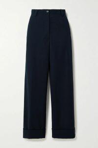 Diane von Furstenberg - Kemma Cold-shoulder Silk-chiffon Wrap Top - Red