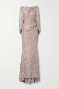MICHAEL Michael Kors - Crochet-trimmed Broderie Anglaise Cotton Mini Dress - Papaya