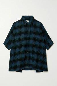 Charo Ruiz - Greta Crocheted Lace-paneled Cotton-blend Mini Skirt - Black