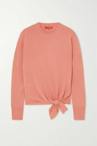 Rebecca Vallance - Valentina Belted Broderie Anglaise Cotton Mini Dress - White