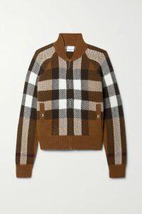 Alice + Olivia - Nan Wrap-effect Fil Coupé Chiffon Dress - Navy