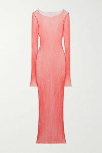 Three Graces London - + Zhandra Rhodes Solaine Printed Cotton-voile Maxi Dress - Green