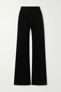 PatBO - Ruffled Printed Cotton-blend Poplin Wrap Skirt - Light blue
