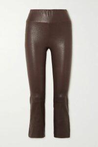 Chloé - Printed Silk-satin Shirt - White