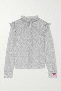 Rebecca Vallance - Bellagio Tiered Lurex Maxi Dress - Gold