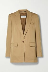 Brunello Cucinelli - Checked Tulle Midi Skirt - Gray