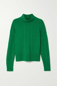 Dolce & Gabbana - Pleated Floral-print Cotton-blend Poplin Midi Dress - Red
