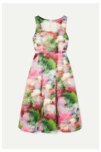 Adam Lippes - Floral-print Duchesse Satin Dress - White