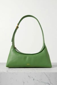 Chloé - Tie-neck Printed Silk-satin Blouse - Brick