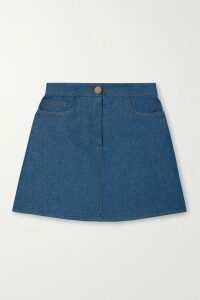 Valentino - Floral-print Wool And Silk-blend Midi Dress - Black