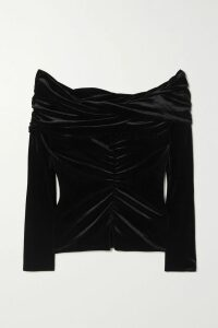 Jason Wu Collection - Ruffled Tulle-trimmed Silk-crepon And Hammered-satin Gown - Violet