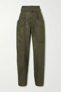 SAINT LAURENT - Polka-dot Silk Shirt - Black