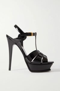 Stella McCartney - Pleated Wool-blend Mini Dress - Black