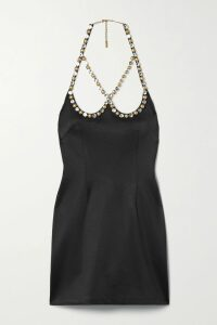 Stella McCartney - Belted Prince Of Wales Checked Wool Vest - Gray