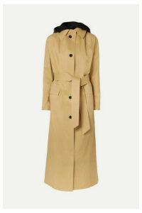 Kassl Editions - Cotton-blend Shell Trench Coat - Beige